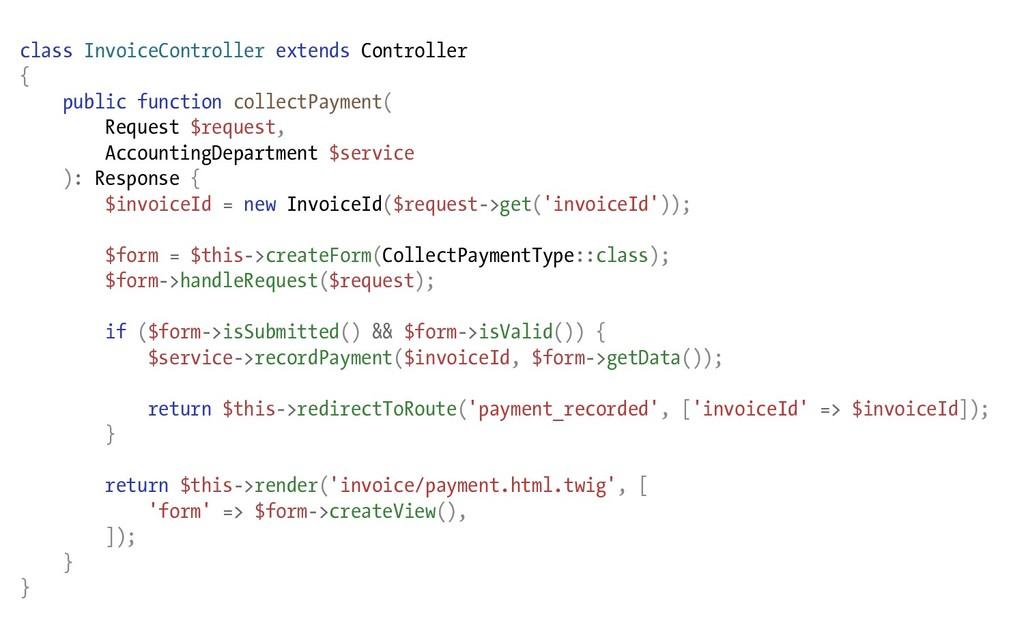 class InvoiceController extends Controller { pu...
