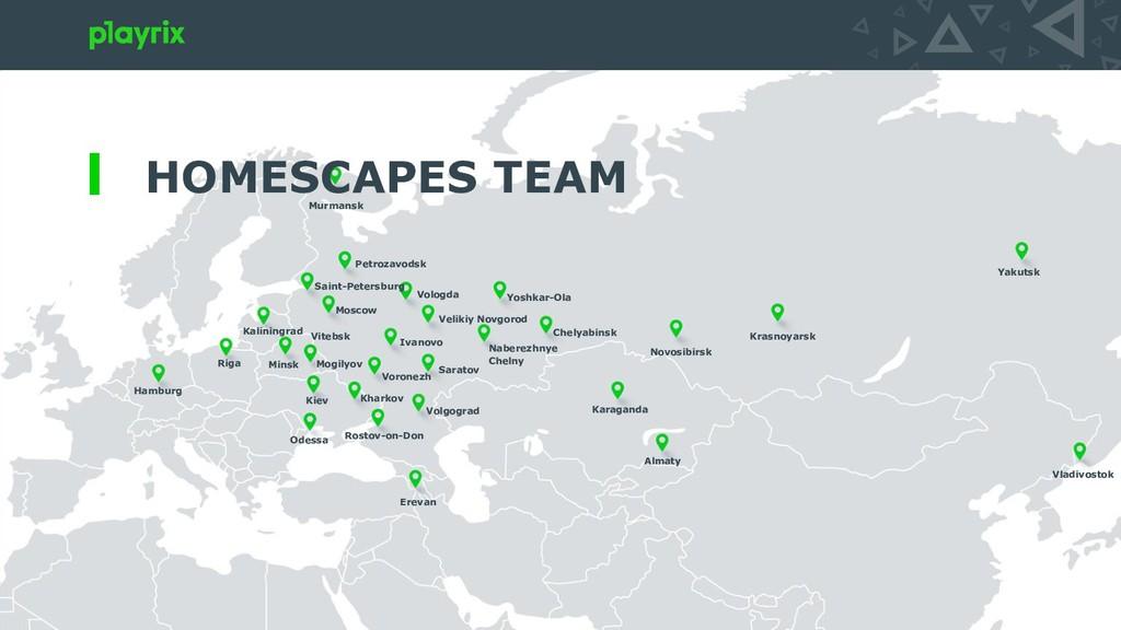 HOMESCAPES TEAM Moscow Vologda Saint-Petersburg...