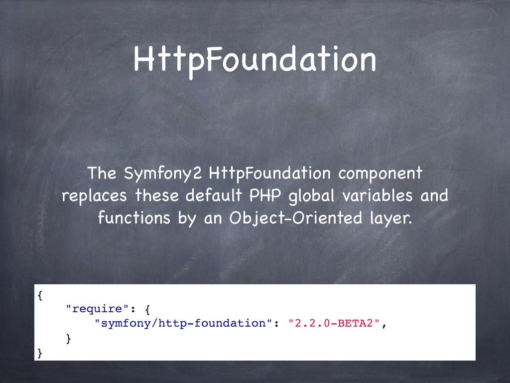 HttpFoundation The Symfony2 HttpFoundation comp...