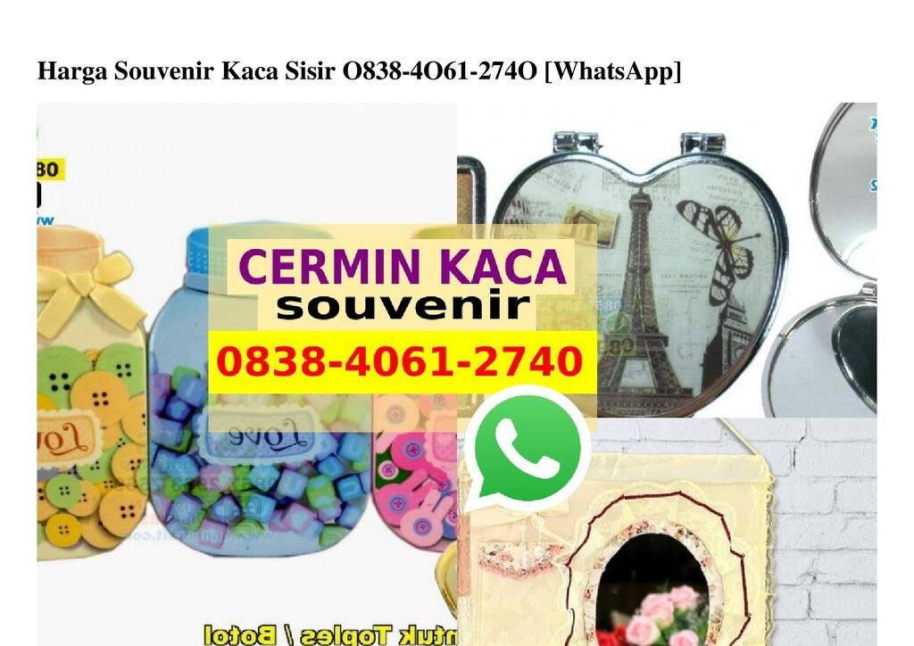 Harga Souvenir Kaca Sisir O838-4O61-274O [Whats...