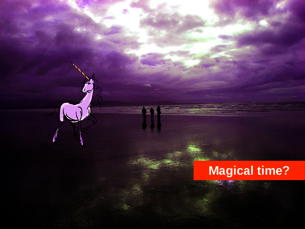 Magical time?