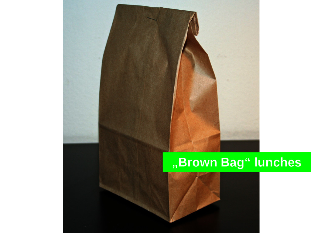 """Brown Bag"" lunches"