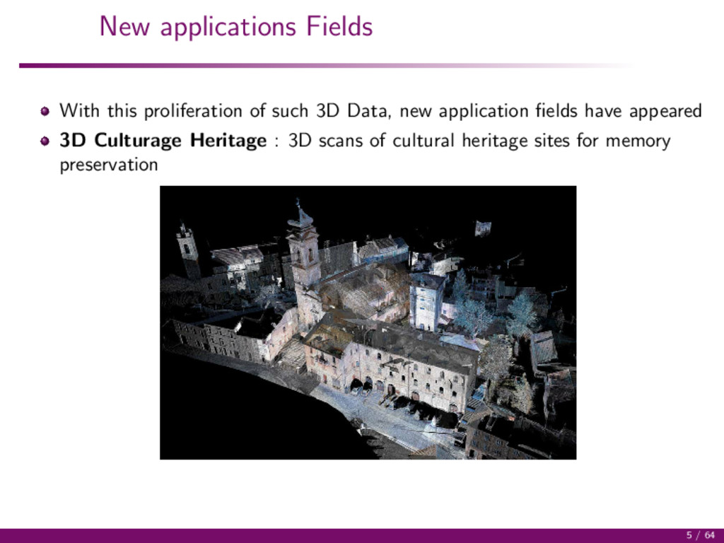 New applications Fields With this proliferation...
