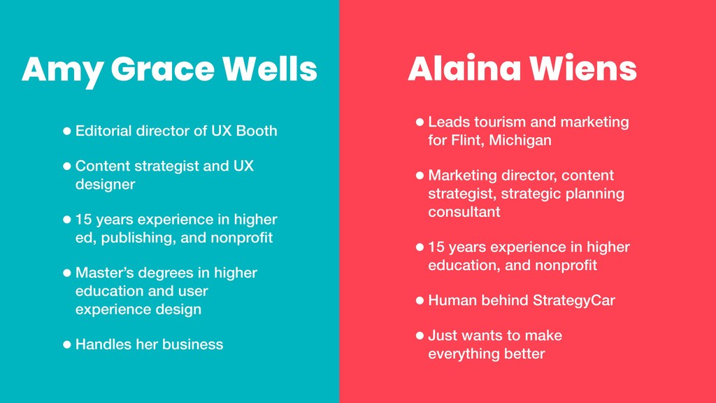 Alaina Wiens •Leads tourism and marketing for F...