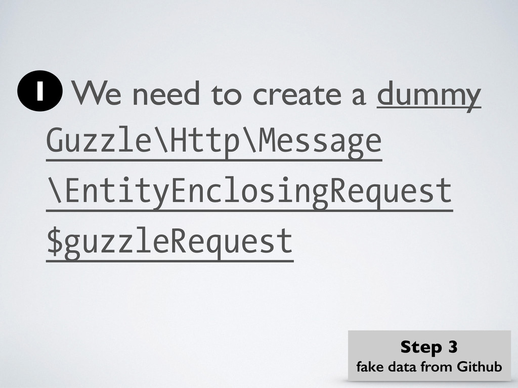 We need to create a dummy Guzzle\Http\Message \...