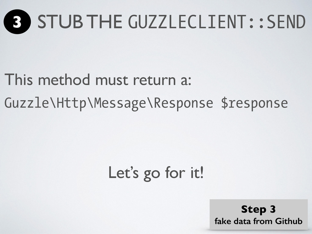 This method must return a: Guzzle\Http\Message\...