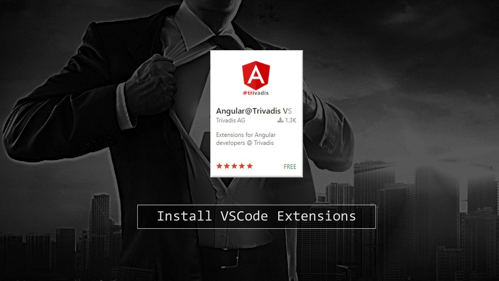 Install VSCode Extensions