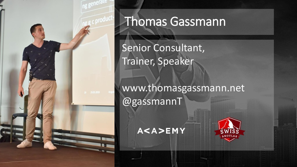 Thomas Gassmann Senior Consultant, Trainer, Spe...