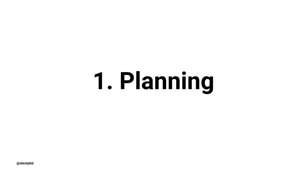 1. Planning @skentphd