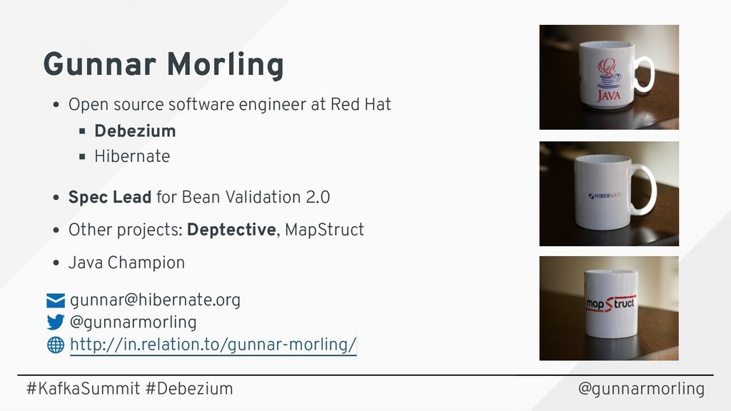 Gunnar Morling Gunnar Morling Open source softw...