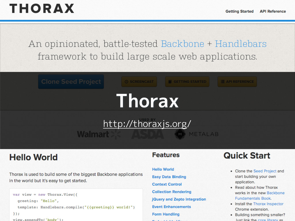 Thorax http://thoraxjs.org/
