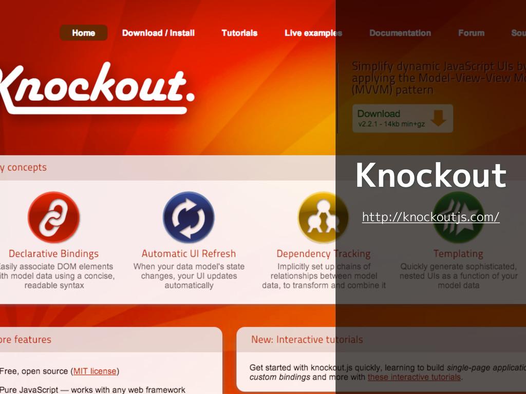 Knockout http://knockoutjs.com/