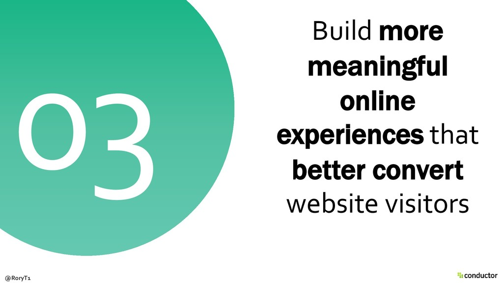 Build more meaningful online experiences that b...