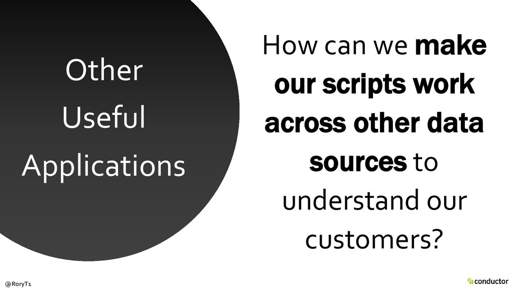 How can we make our scripts work across other d...