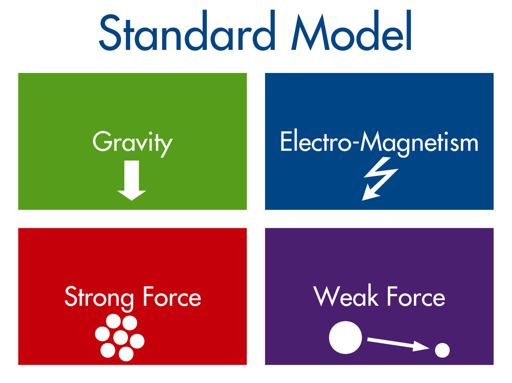 Standard Model Gravity Electro-Magnetism Strong...