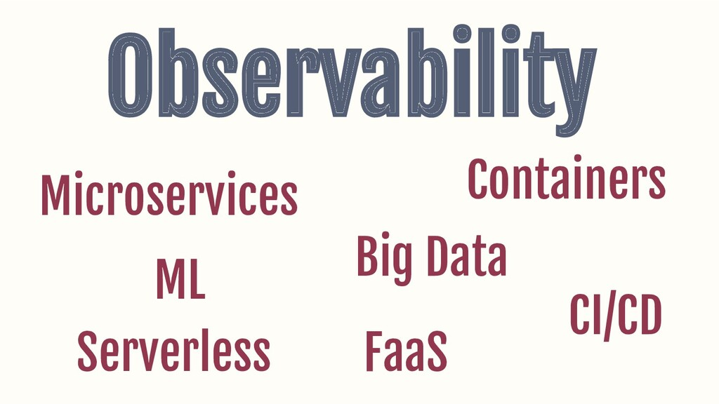 Observability Microservices Containers FaaS Ser...