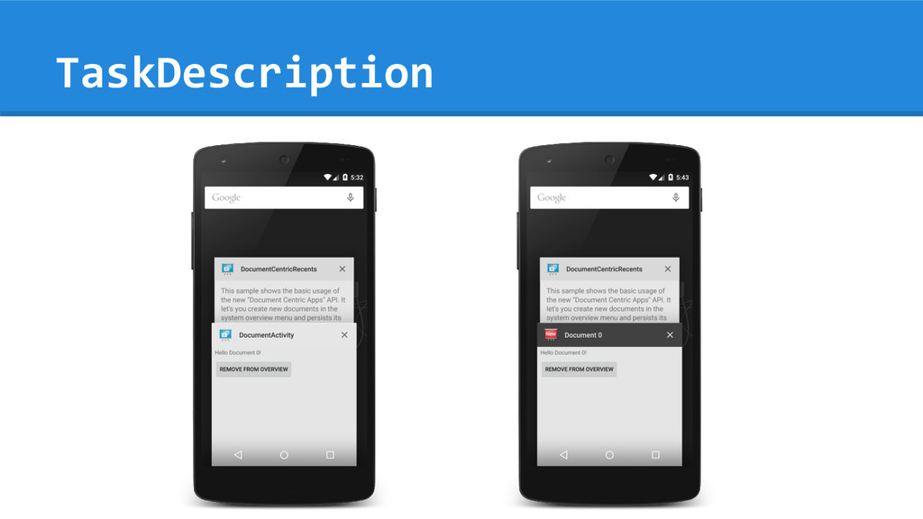 TaskDescription