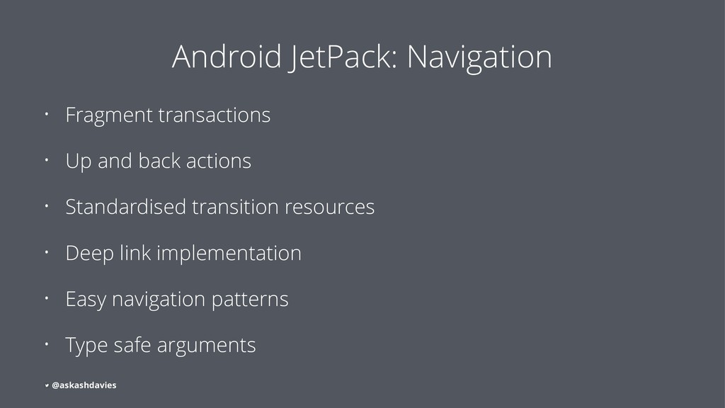 Android JetPack: Navigation • Fragment transact...