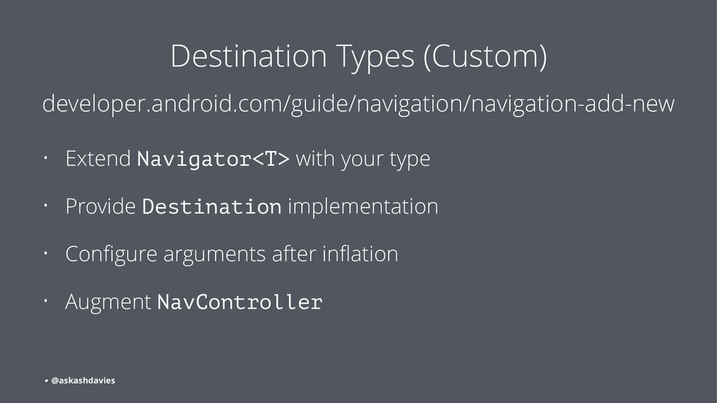Destination Types (Custom) developer.android.co...