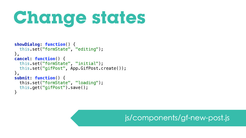 Change states js/components/gf-new-post.js show...