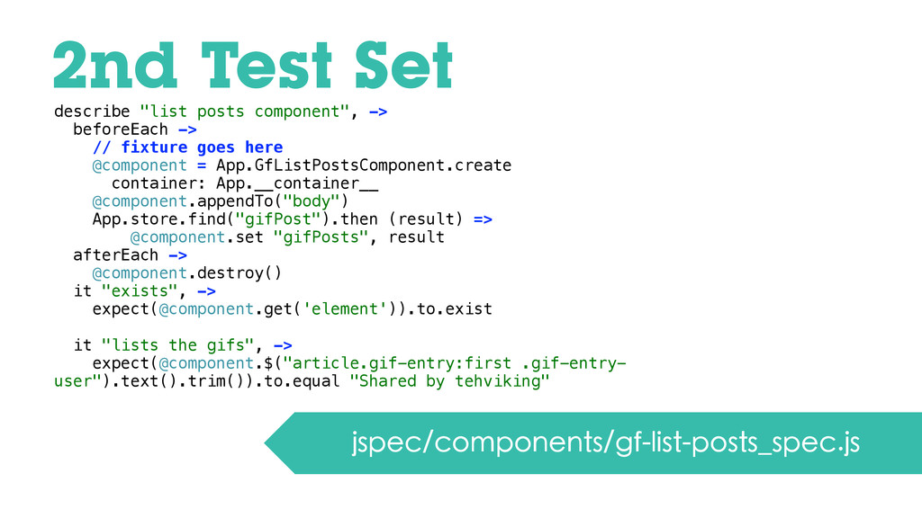 2nd Test Set jspec/components/gf-list-posts_spe...