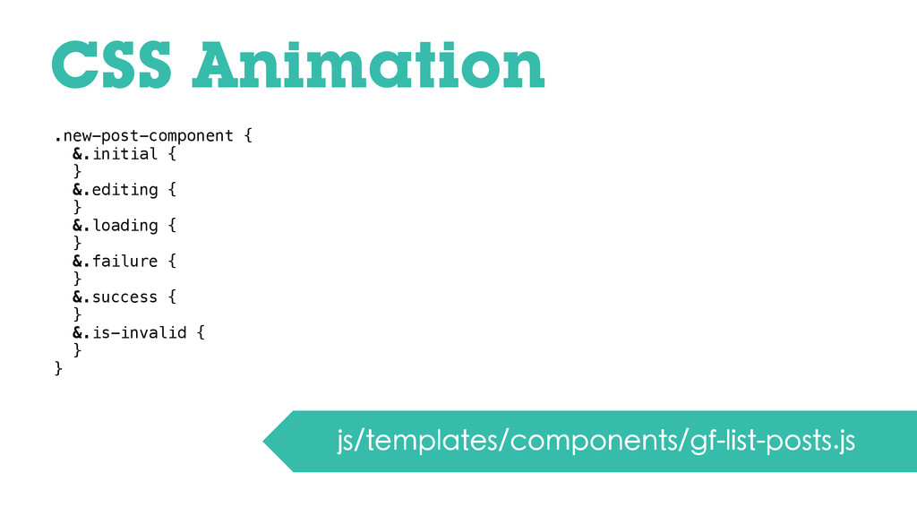CSS Animation js/templates/components/gf-list-p...