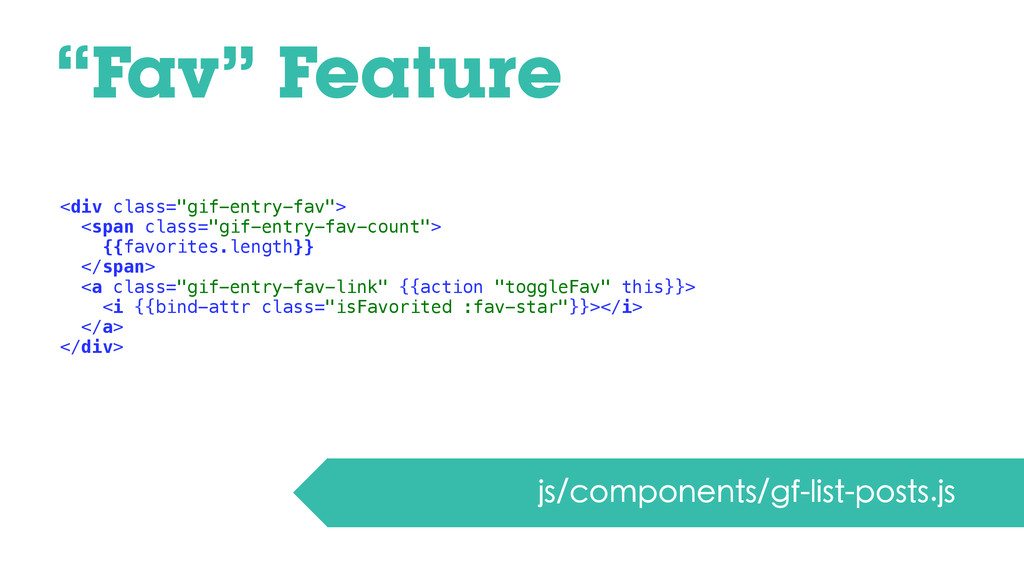 """Fav"" Feature js/components/gf-list-posts.js <d..."