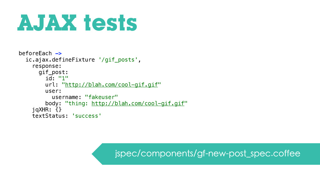AJAX tests jspec/components/gf-new-post_spec.co...