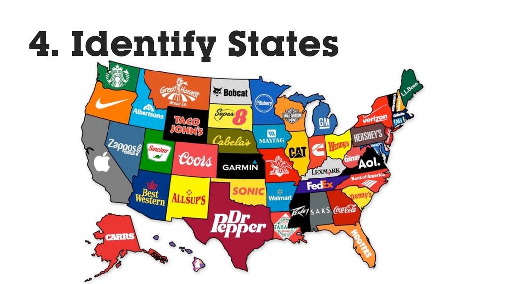 4. Identify States