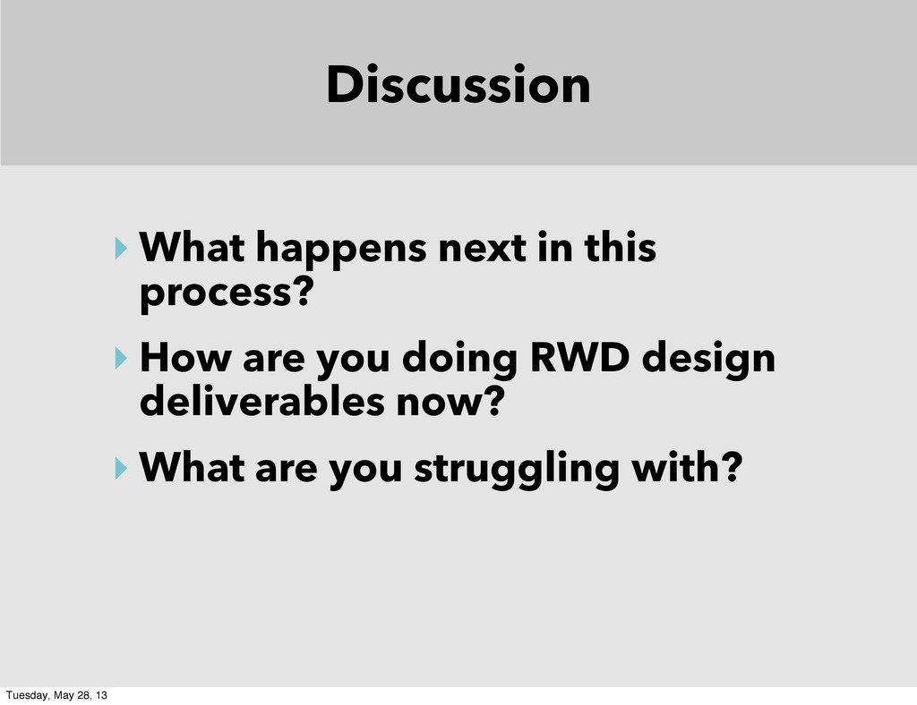 Discussion ‣ What happens next in this process?...