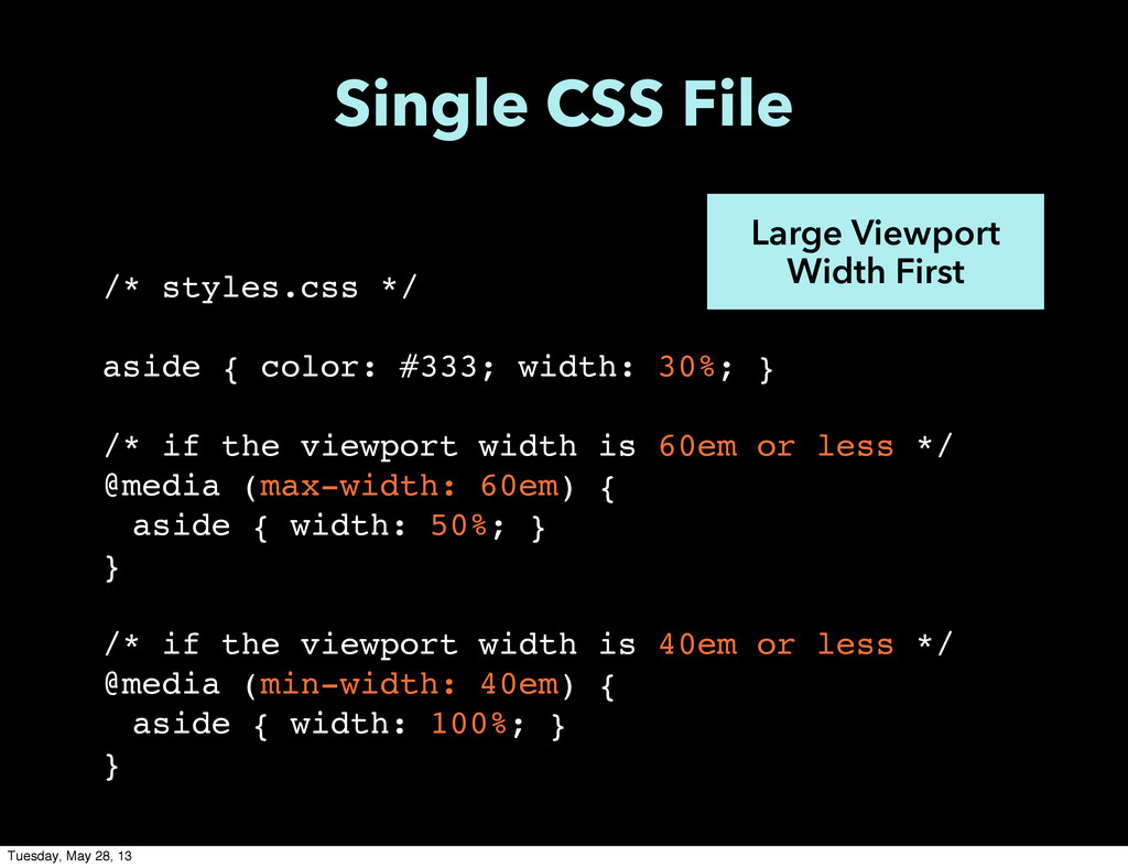 /* styles.css */ aside { color: #333; width: 30...