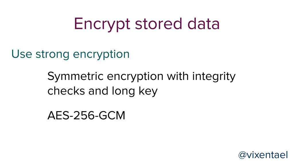 Symmetric encryption with integrity checks and ...