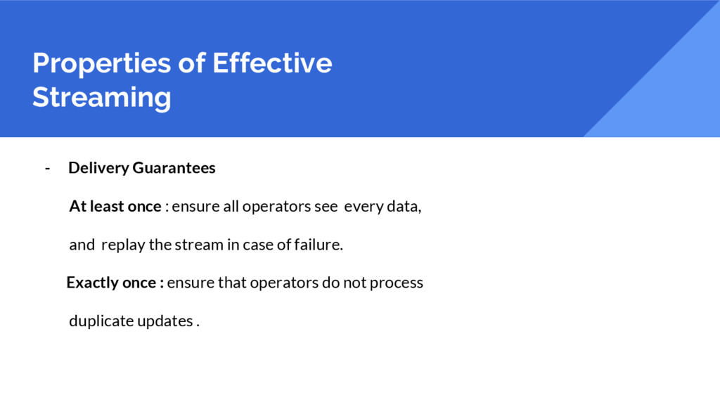 Properties of Effective Streaming - Delivery Gu...