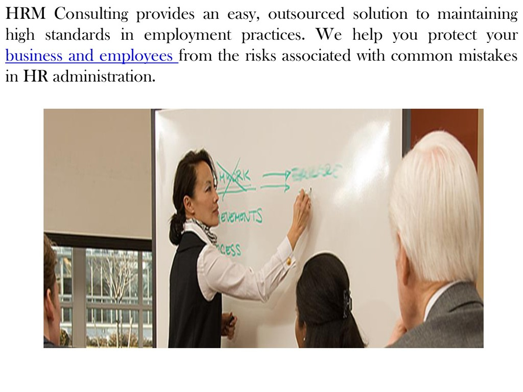HRM Consulting provides an easy, outsourced sol...