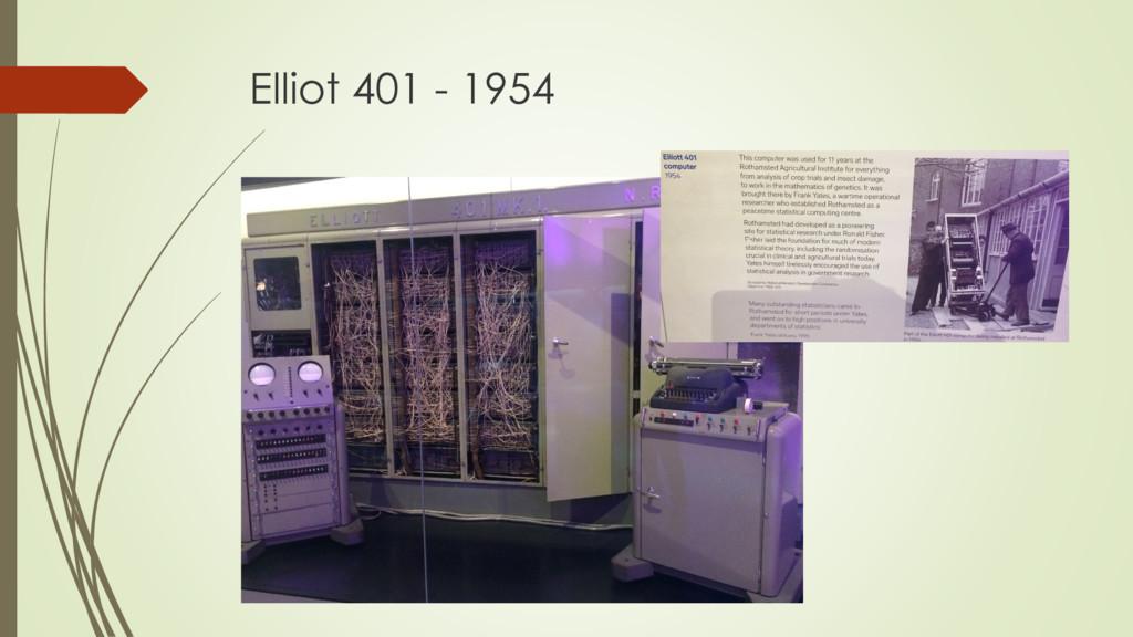Elliot 401 - 1954