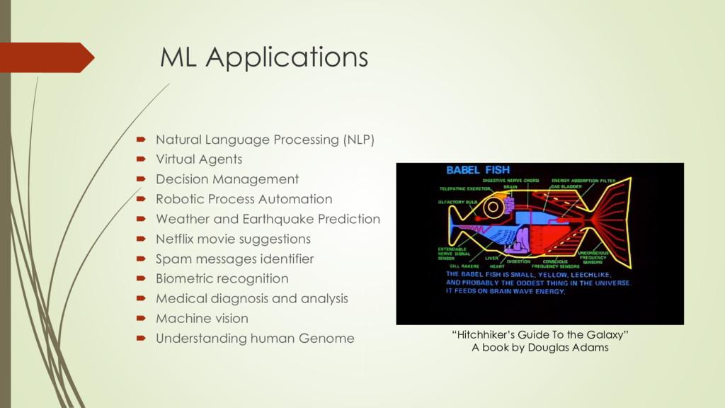 ML Applications  Natural Language Processing (...