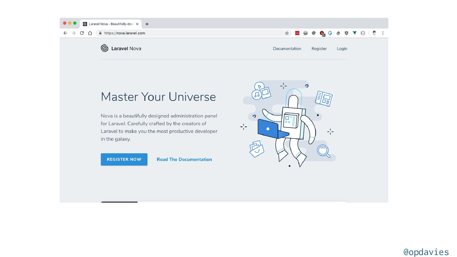 How do I use Tailwind? @opdavies