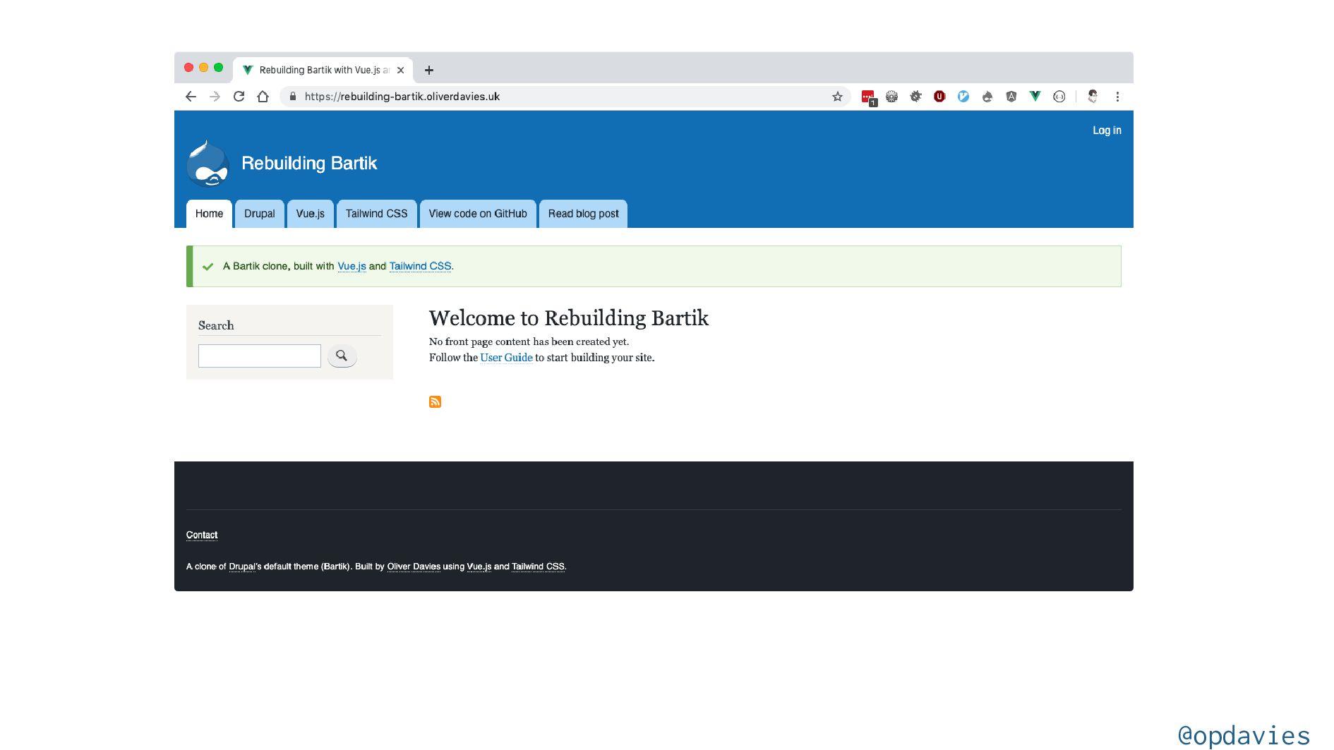 Using utility classes to build custom designs w...