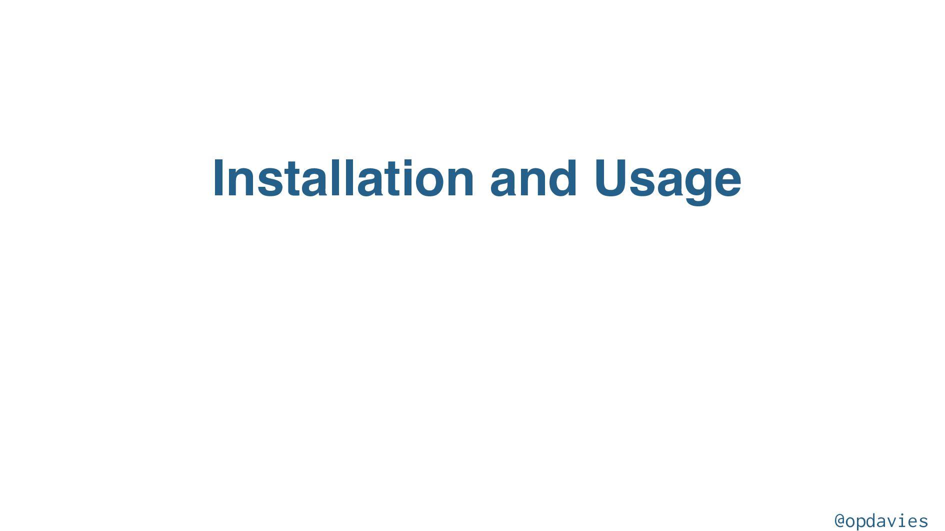 2. Installing Tailwind via NPM @opdavies