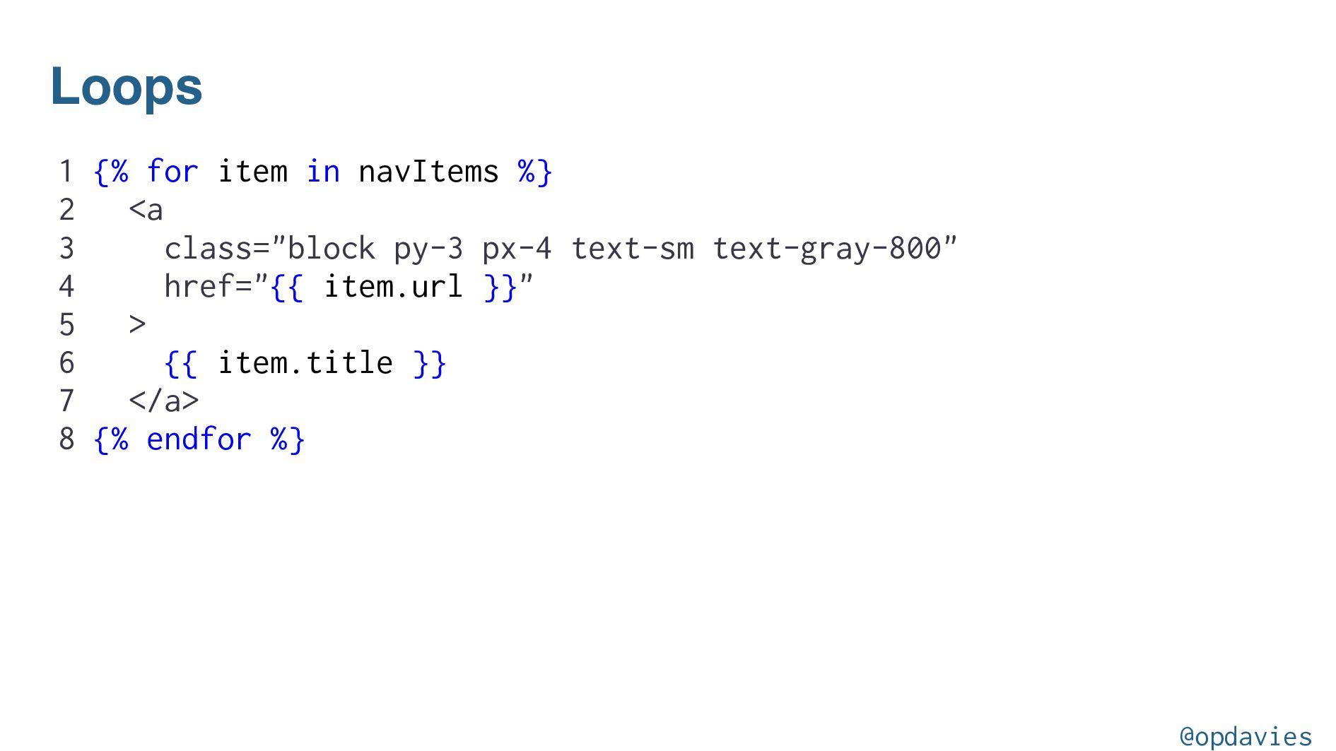 Responsive @opdavies