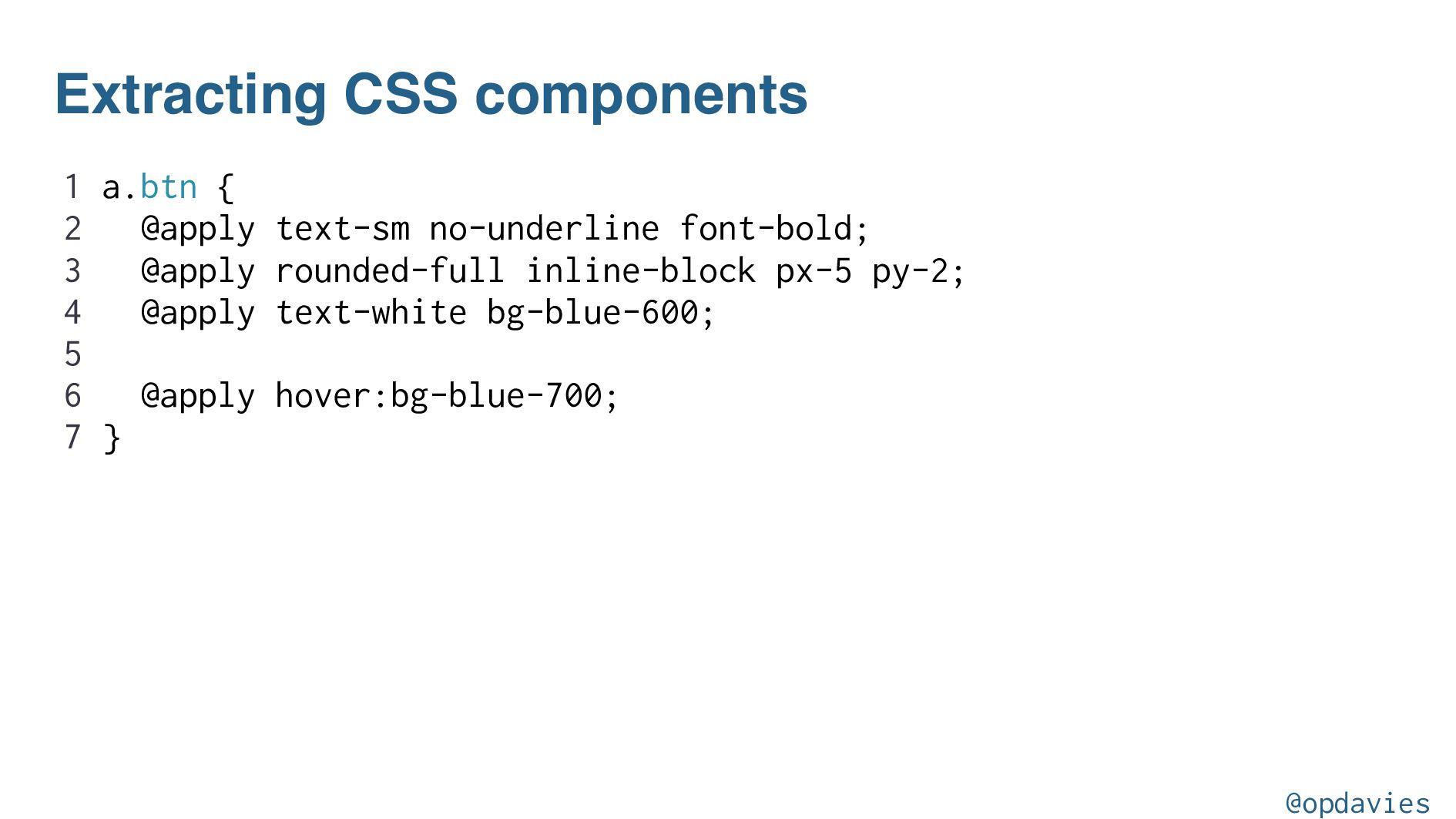 Responsive classes in CSS .block { display: blo...