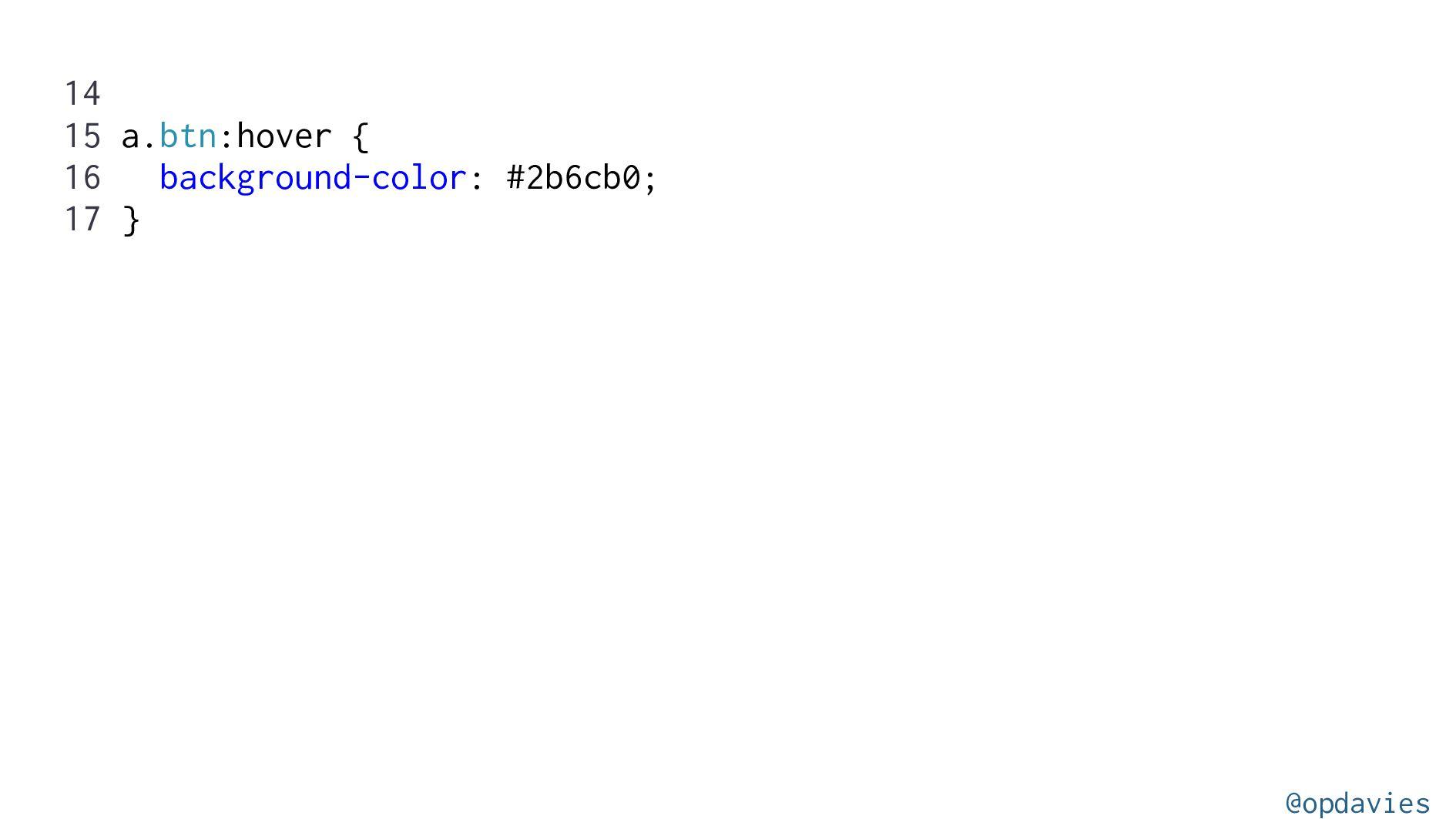 Customising Tailwind @opdavies