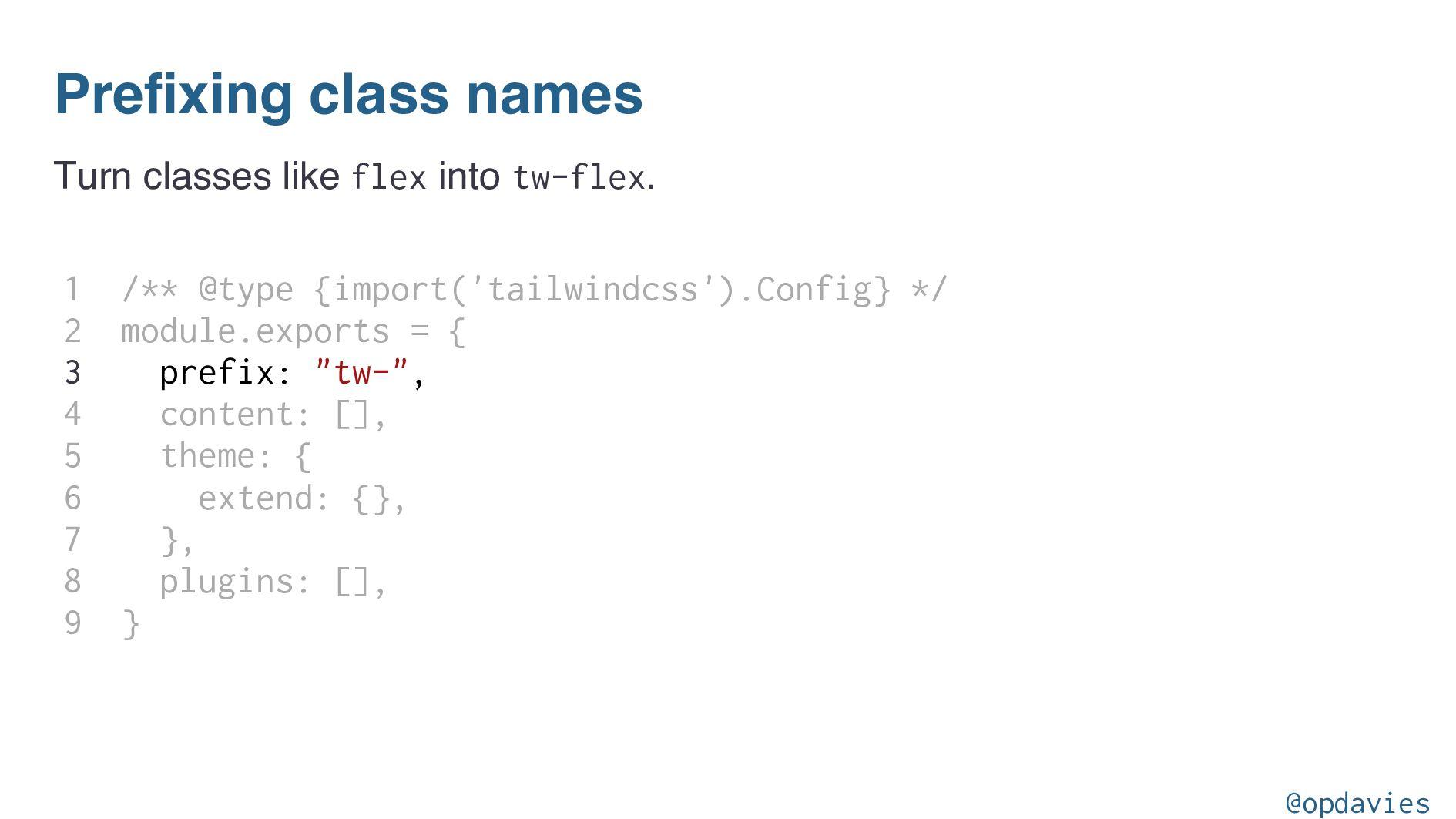 Adding a plugin // tailwind.config.js module.ex...