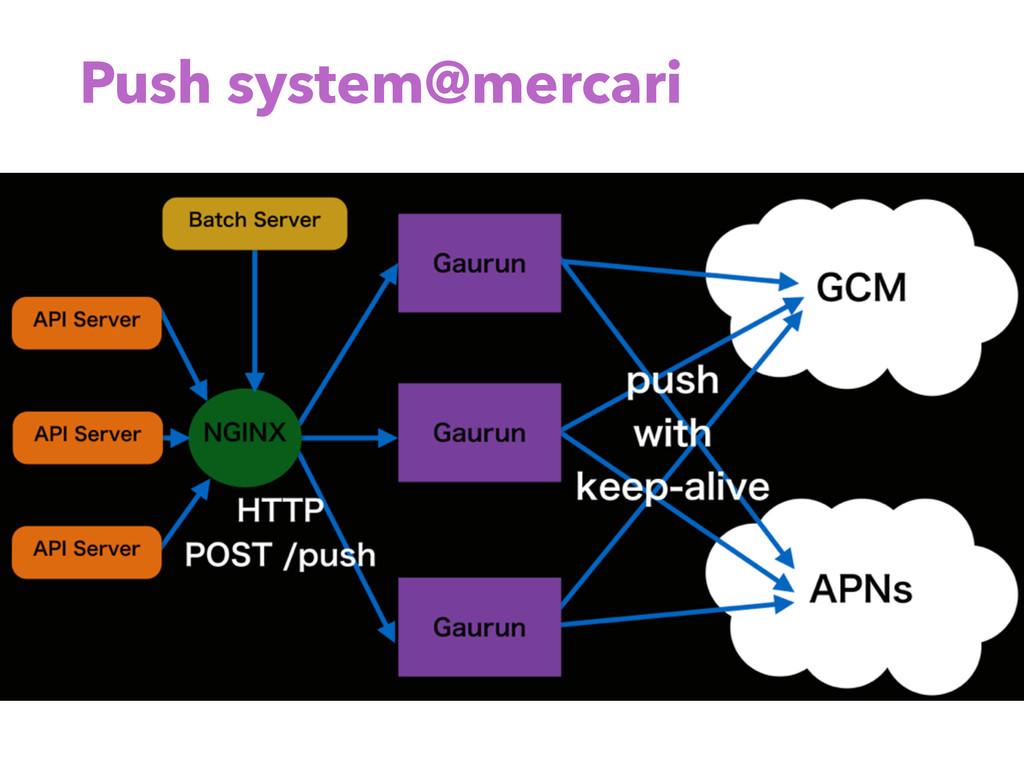 Push system@mercari