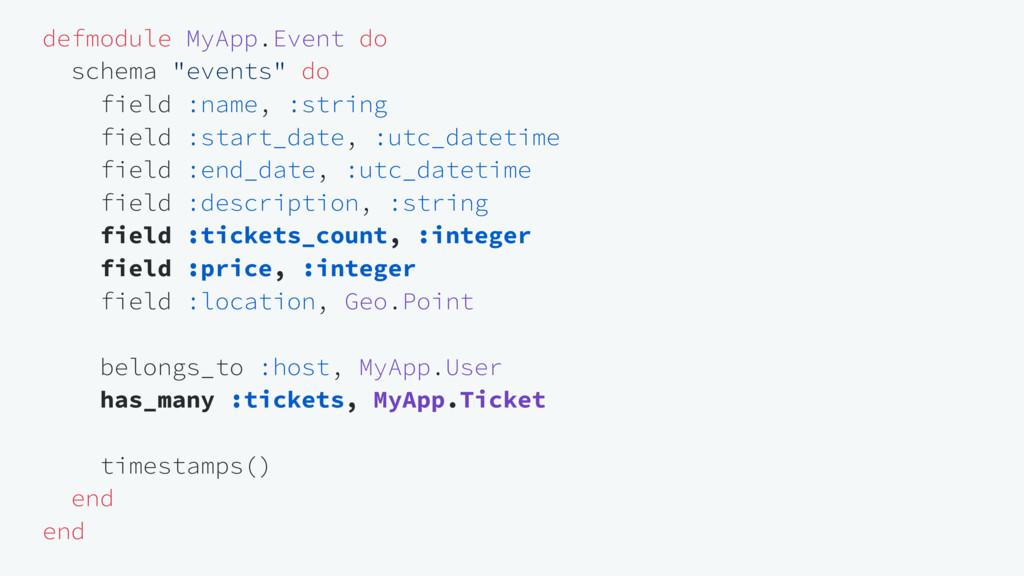 """defmodule MyApp.Event do schema """"events"""" do fie..."""