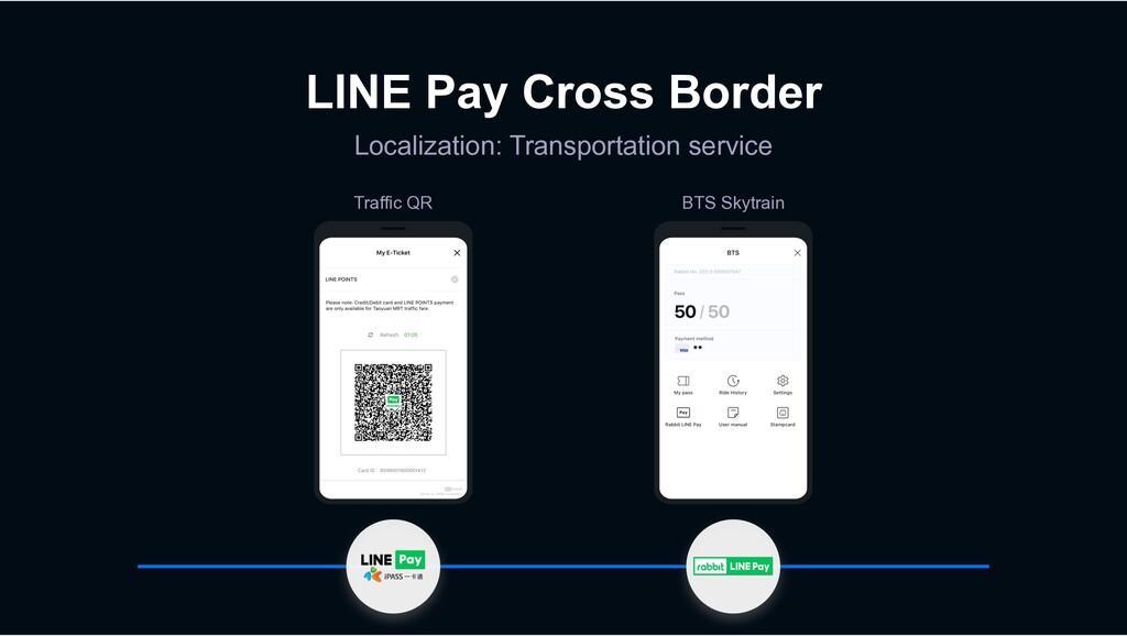 LINE Pay Cross Border Localization: Transportat...