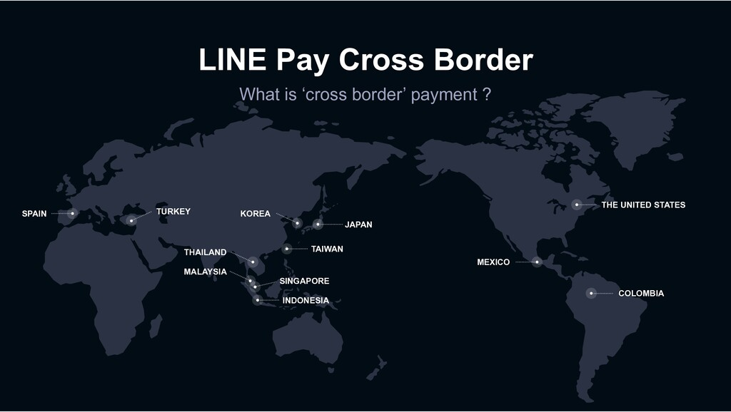 LINE Pay Cross Border What is 'cross border' pa...