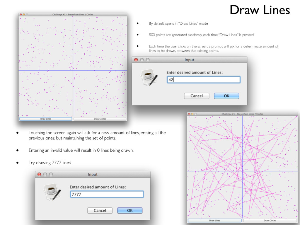 """• By default opens in """"Draw Lines"""" mode • 500 p..."""