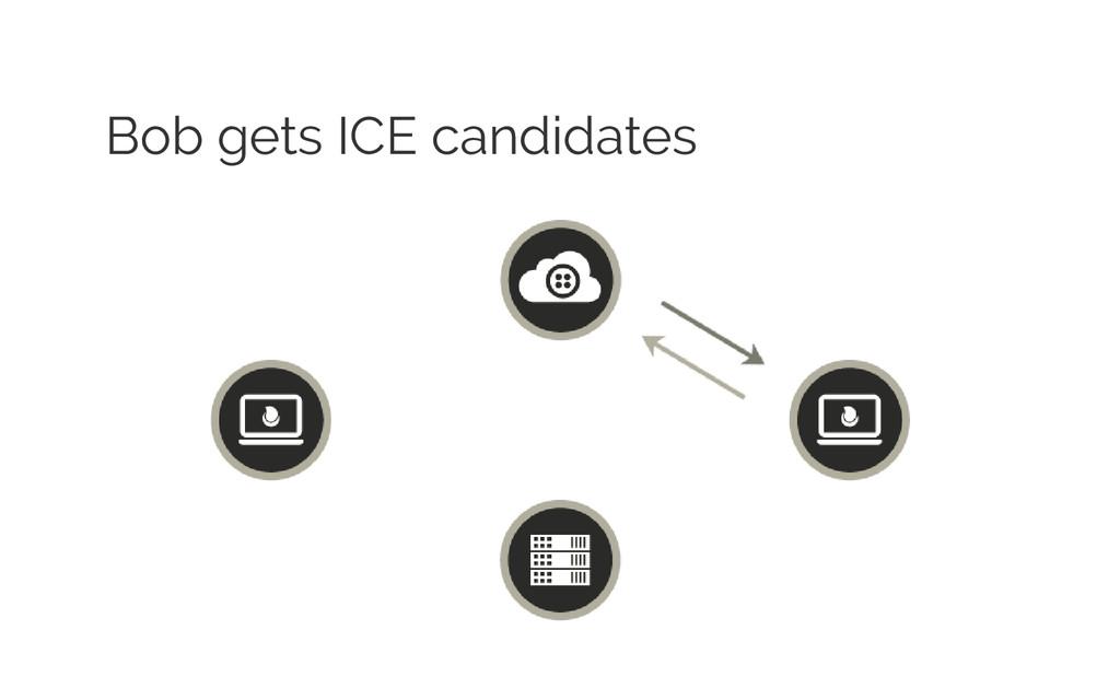 Bob gets ICE candidates