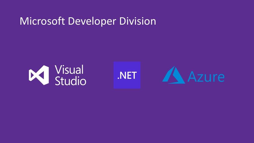 Microsoft Developer Division